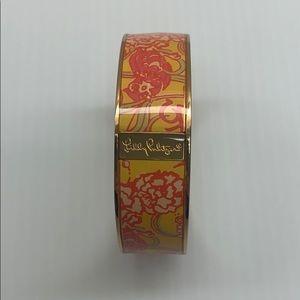 Lily Pulitzer Chi Omega bangle bracelet